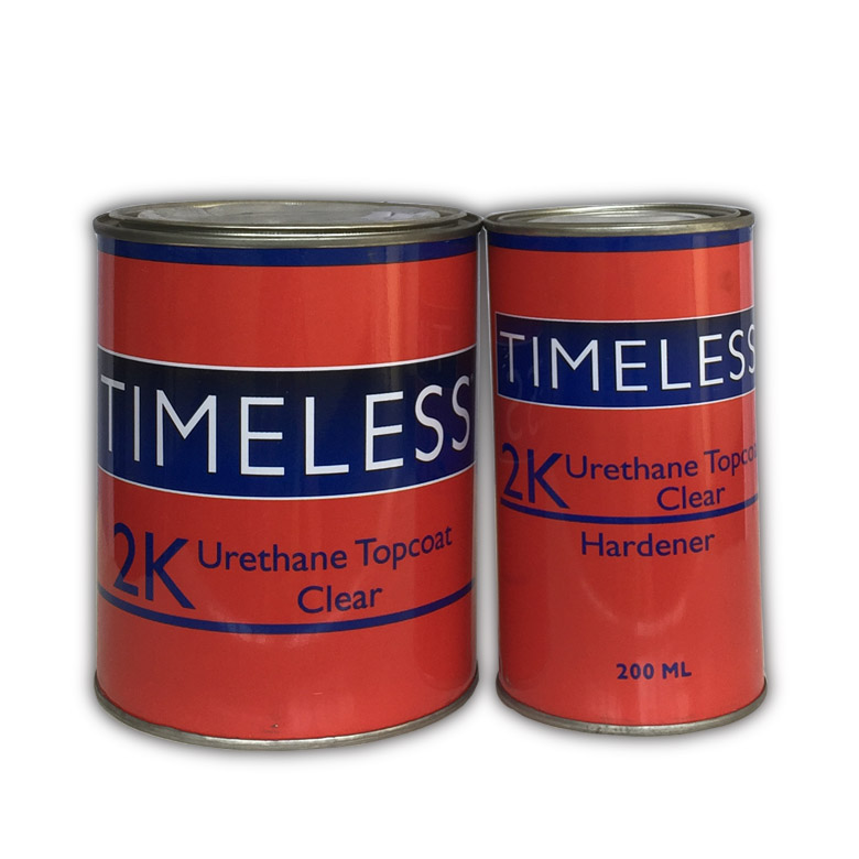 Timeless 2K Polyurethane Panel-Repair Topcoat Clear